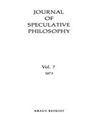The Journal of Speculative Philosophy : ... Volume Vol.7 by Stuhr,john