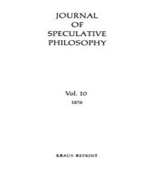 The Journal of Speculative Philosophy : ... Volume Vol.10 by Stuhr,john