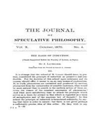 The Journal of Speculative Philosophy : ... Volume Vol.10 by Stuhr,john