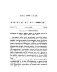 The Journal of Speculative Philosophy : ... Volume Vol.15 by Stuhr,john