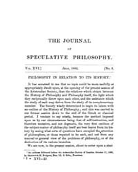 The Journal of Speculative Philosophy : ... Volume Vol.16 by Stuhr,john