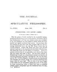 The Journal of Speculative Philosophy : ... Volume Vol.17 by Stuhr,john