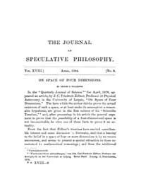 The Journal of Speculative Philosophy : ... Volume Vol.18 by Stuhr,john