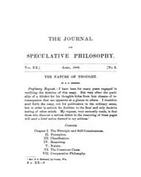 The Journal of Speculative Philosophy : ... Volume Vol.20 by Stuhr,john