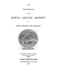 The Journal of the Royal Asiatic Society... Volume Vol.5 by