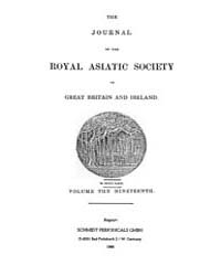 The Journal of the Royal Asiatic Society... Volume Vol.19 by