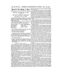 The Journal of the Society of Arts : 185... Volume Vol.5 by