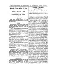 The Journal of the Society of Arts : 186... Volume Vol.16 by