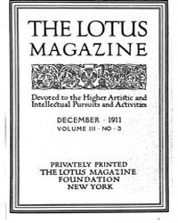 The Lotus Magazine : 1911 Dec. No. 3, Vo... Volume Vol. 2 by