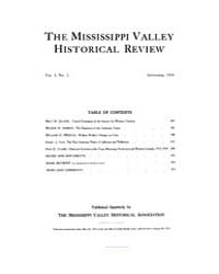 The Mississippi Valley Historical Review... Volume Vol. 1 by