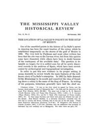 The Mississippi Valley Historical Review... Volume Vol. 2 by