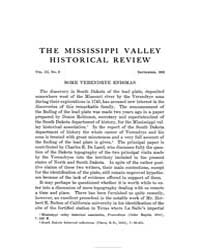 The Mississippi Valley Historical Review... Volume Vol. 3 by