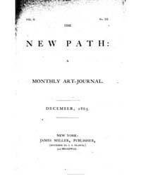 The New Path : 1865 Dec. No. 12, Vol. 2 Volume Vol. 2 by