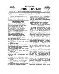 The New York Latin Leaflet : 1903 Oct. 1... Volume Vol. 4 by