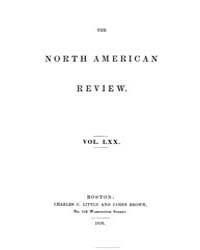 The North American Review : 1850 Jan. : ... Volume Vol. 70 by