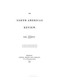 The North American Review : 1853 July : ... Volume Vol. 77 by