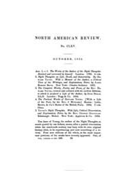 The North American Review : 1854 October... Volume Vol. 79 by
