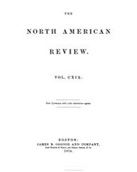 The North American Review : 1874 Jul. No... Volume Vol. 119 by