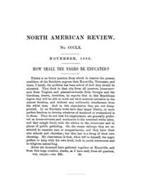 The North American Review : 1886 Nov. No... Volume Vol 143 by