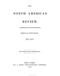 The North American Review : 1893 Jan. No... Volume Vol. 156 by