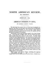 The North American Review : 1898 Feb. No... Volume Vol. 166 by