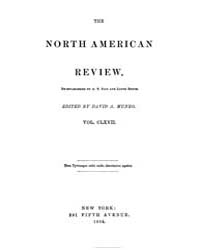 The North American Review : 1898 Jul. No... Volume Vol. 167 by