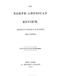 The North American Review : 1899 Jan. No... Volume Vol. 168 by