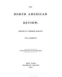 The North American Review : 1908 Jan. No... Volume Vol. 187 by