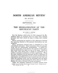 The North American Review : 1913 Sep. No... Volume Vol. 198 by