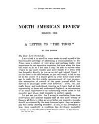 The North American Review : 1915 Mar. No... Volume Vol. 201 by