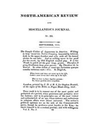 The North American Review and Miscellane... Volume Vol. 1 by