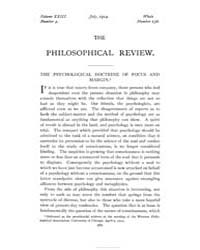 The Philosophical Review : 1914 : Jul No... by