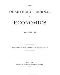The Quarterly Journal of Economics ; Vol... by
