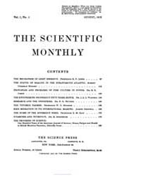 The Scientific Monthly ; Volume 7 : No 2... by