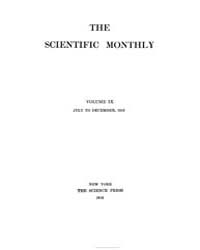 The Scientific Monthly ; Volume 9 : No 1... by