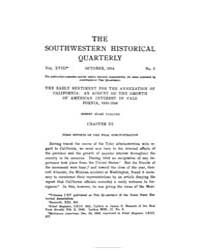 The Southwestern Historical Quarterly ; ... by