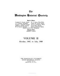 The Washington Historical Quarterly ; Vo... by Meany, S. Edmond