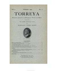 Torreya ; Volume 3 : No 2 : Feb : 1903 by