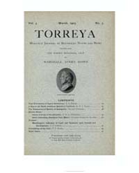Torreya ; Volume 3 : No 3 : Mar : 1903 by