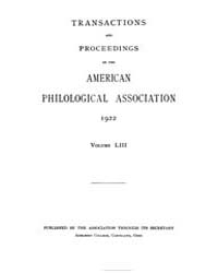 Transactions and Proceedings of the Amer... by
