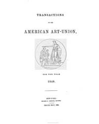 Transactions of the American Art-union :... by
