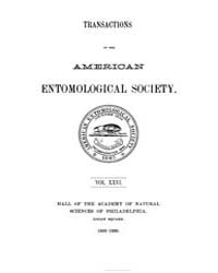 Transactions of the American Entomologic... by
