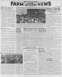 Michigan Farm News : Volume Xxvii, Numbe... by Michigan State University