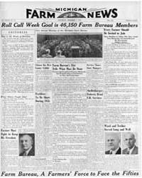 Michigan Farm News : Volume Xxviii, Numb... by Michigan State University