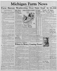 Michigan Farm News : Volume Xxx, Number ... by Michigan State University