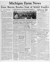 Michigan Farm News : Volume 31, Number 3... by Michigan State University