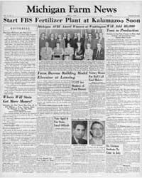Michigan Farm News : Volume 31, Number 4... by Michigan State University