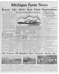 Michigan Farm News : Volume 31. Number 7... by Michigan State University
