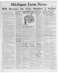 Michigan Farm News : Volume 31, Number 8... by Michigan State University