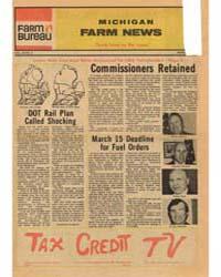 Michigan Farm News : Volume 53, Number 3 by Michigan State University